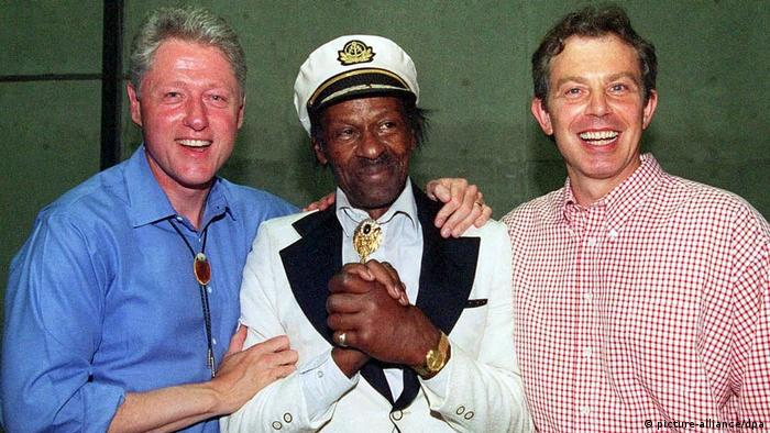 Chuck Berry bei Wild-West-Konzert zum Gipfel in Denver (picture-alliance/dpa)