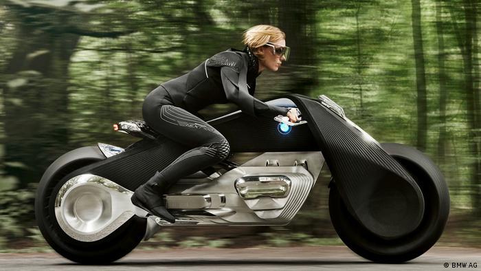 Pressebild BMW Motorrad Next Vision 100 (BMW AG)