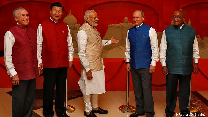2016 BRICS meeting in Benaulim, India
