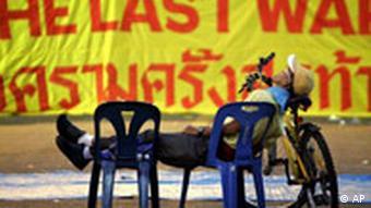 Thailand Bangkok Protest gegen Regierung