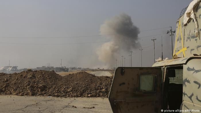 Irak Mossul Militäroffensive gegen IS (picture-alliance/AP Photo)