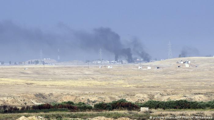 Irak Mossul Militäroffensive gegen IS (picture-alliance/AP Photo/K. Mohammed)