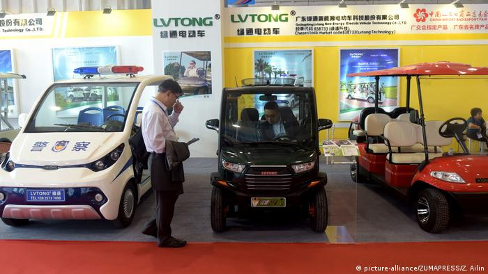 China Automobilausstellung in Nanning (picture-alliance/ZUMAPRESS/Z. Ailin)