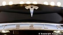 USA Logo Automobilhersteller Tesla Model S