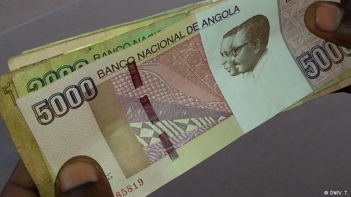 Angola Luanda Kwanza (DW/V. T.)