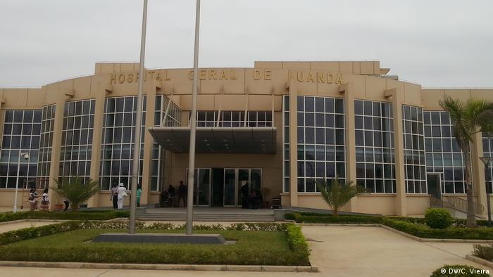 Angola Luanda Hospital Geral de Luanda (DW/C. Vieira)
