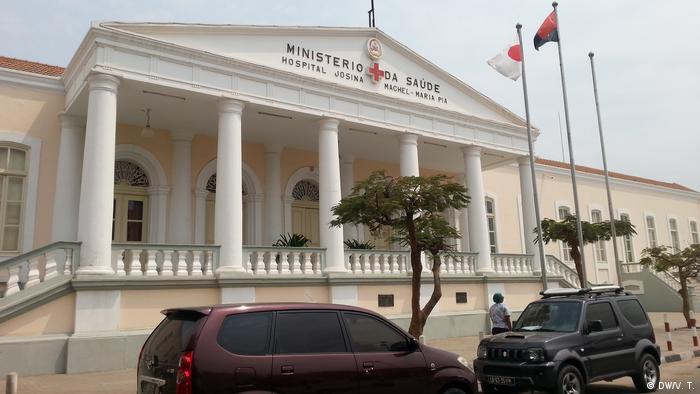 Ministério da Saúde entregou recentemente ambulâncias à Administração do Cuango, na Lunda Norte