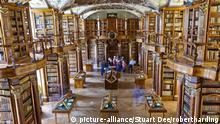 Schweiz St. Gallen Kloster Bibliothek