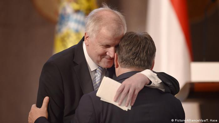 Horst Seehofer and Viktor Orban (Picture-Alliance/dpa/T. Hase Picture-Alliance/dpa/T. Hase)