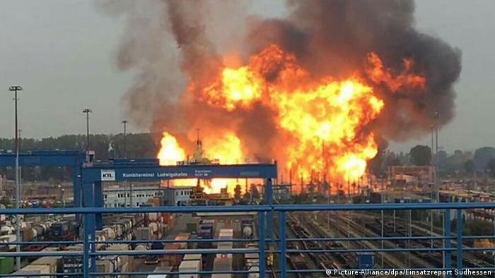 Explosion at BASF chemical plant