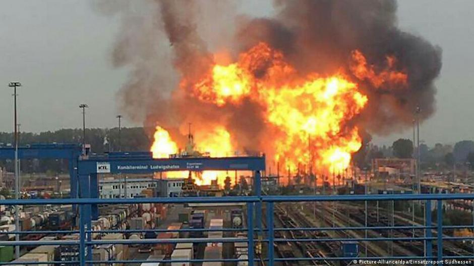 Image result for explosions at spanish chlorine manufacturing company
