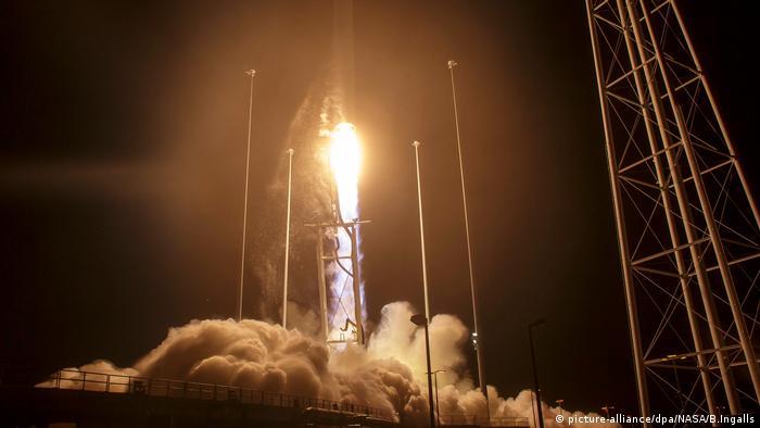 Запуск ракети Antares
