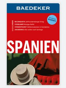 Buchcover Baedeker Spanien