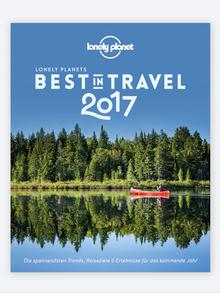 Buchcover Best in Travel 2017 von Lonely Planet