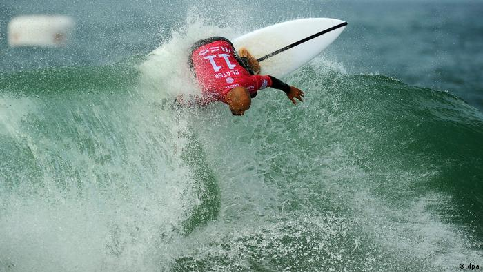Test Bongartz - MEO Rip Curl Pro Portugal - Round one (dpa)