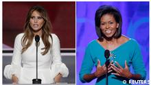 USA | Melania Trump und Michelle Obama