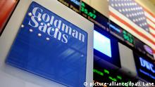 Goldman Sachs LOGO (picture-alliance/dpa/J. Lane)