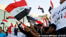 Irak Bagdad Demonstration vor Türkei Botschaft gegen türkische Truppen im Land