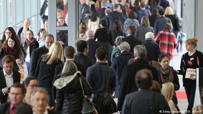 Deutschland Buchmesse Frankfurt 2015 (Getty Images/AFP/D. Roland)