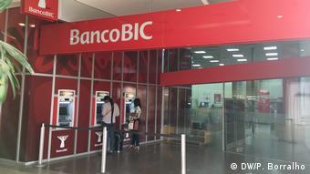 Afrika Angola BIC Bank in Luanda