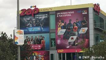 Afrika Angola Zap TV in Luanda