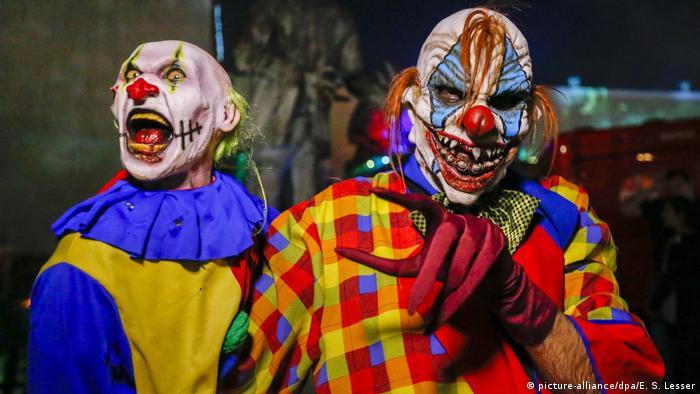 Payasos Diabolicos En Visperas De Halloween El Mundo Dw 18 10 2016