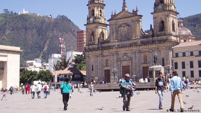 Kolumbien Hauptstadt Bogota (DW/J. Ospina-Valencia)
