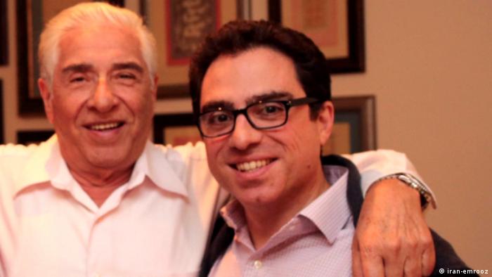 محمدباقر نمازی (چپ) و پسرش سیامک نمازی هر دو به اتهام همکاری با دولت متخاصم آمریکا در زندان بسر میبرند