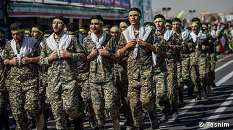 Бойцы Корпуса стражей исламской революции