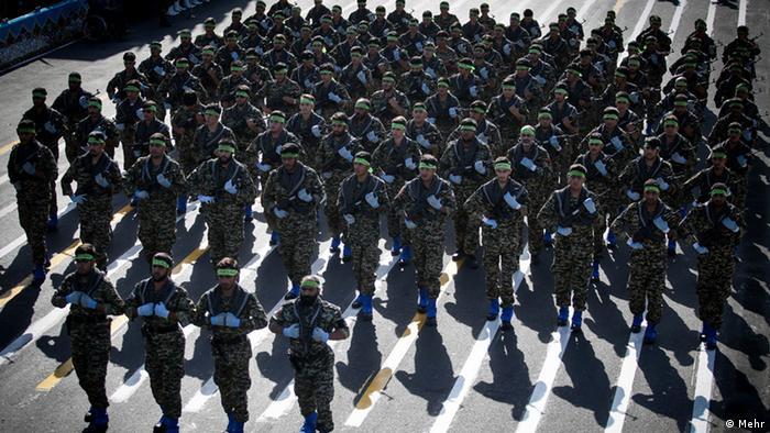 Iran Revolutionswächter Sepah Militär Armee (Mehr)