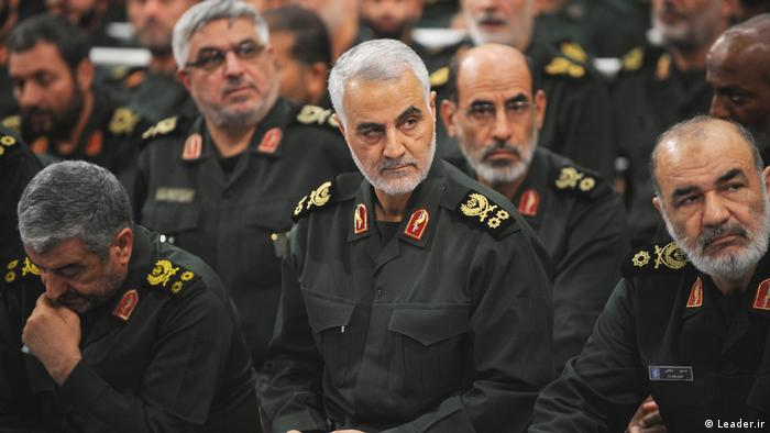 Iran Soleimani Ghods Einheiten Pasdaran (Leader.ir)