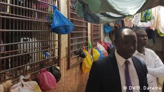 Guinea-Bissau Haftzentrum in Bissau - Besuch Augusto Mário da Silva