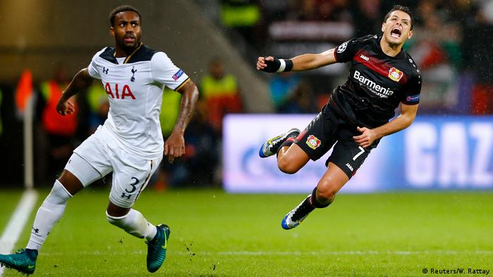 Champions League Bayer 04 Leverkusen vs. Tottenham Hotspur FC (Reuters/W. Rattay)
