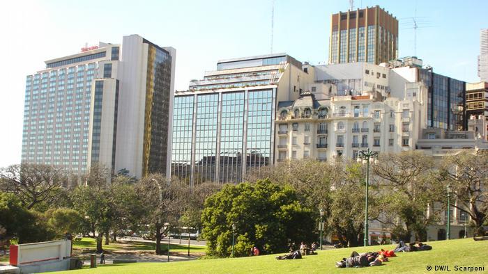Argentinien Plaza Francia in Buenos Aires (DW/L. Scarponi)