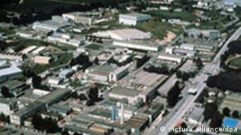 Above ground photo of the CERN campus