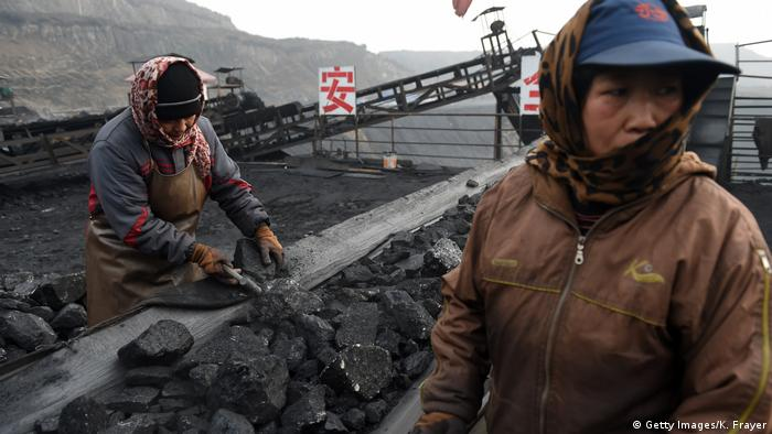 Coal workers in Shanxi, China