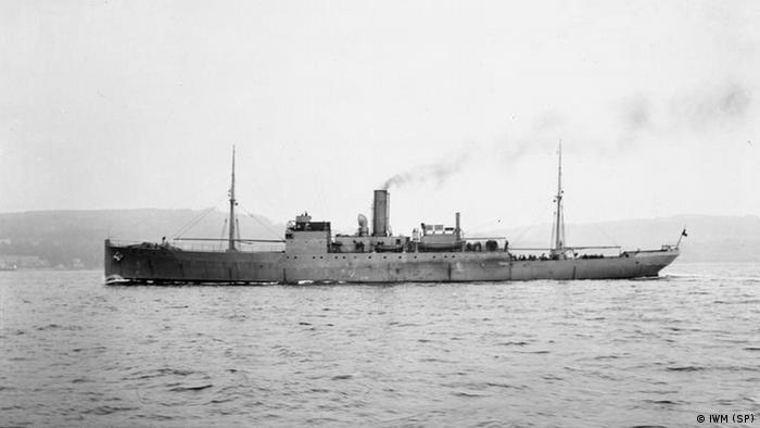 HMS Coreopsis schottisches U-Boot 1. Weltkrieg (IWM (SP))