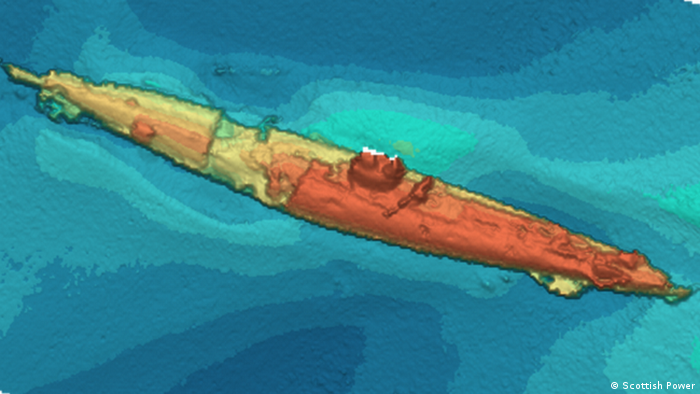 Mysterious German WWI submarine wreck found off Scotland