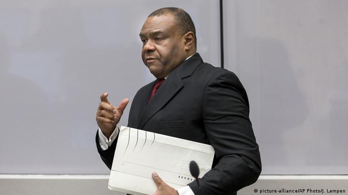 Niederlande Den Haag Internationaler Strafgerichtshof Anklage gegen Jean Pierre Bemba Kongo