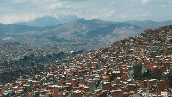 Bolivien Projekt Habitat La Paz Berge (blogdestinoes.com.br)