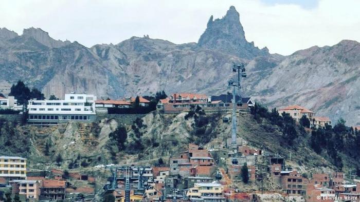 Bolivien Projekt Habitat La Paz Seilbahn (Leandro White)