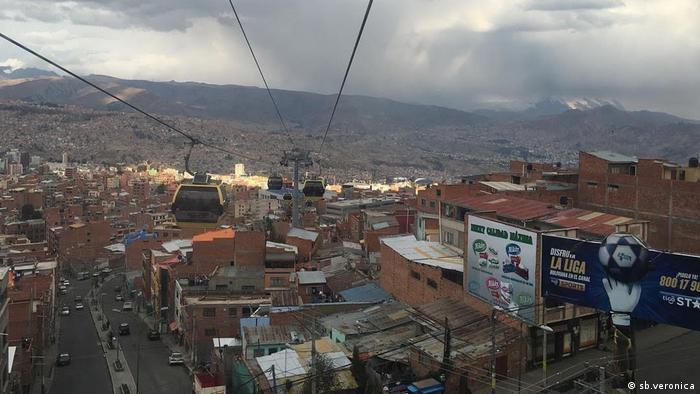 Bolivien Projekt Habitat La Paz Stadt Panorama