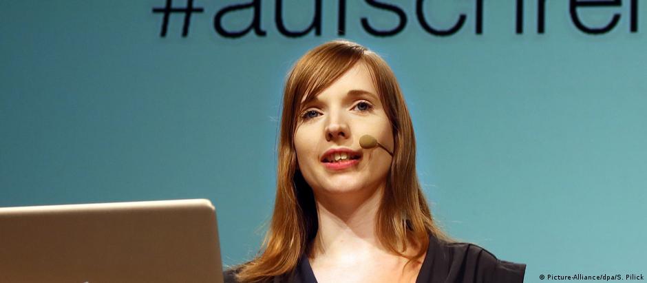 Anne Wizorek é conselheiraindependente para mídias digitais, autora e ativista feminista