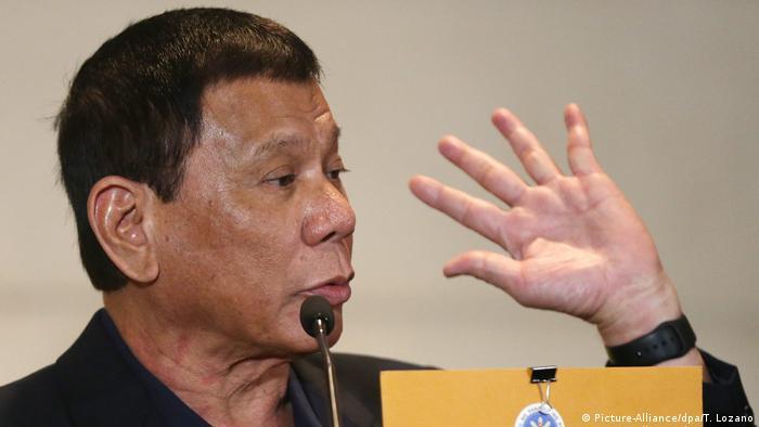 Philippinischer Präsident Rodrigo Duterte zu Besuch in China