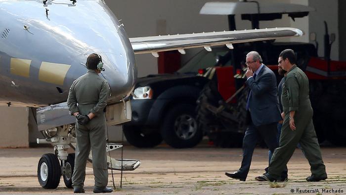 Eduardo Cunha verhaftet (Reuters/A. Machado)