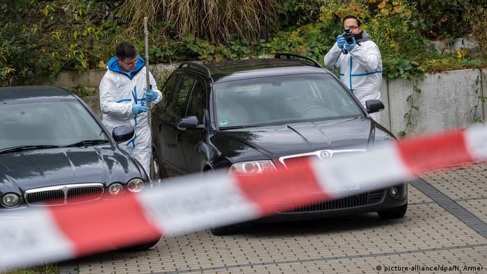 Reichsbürger schießt auf Polizisten (picture-alliance/dpa/N. Armer)