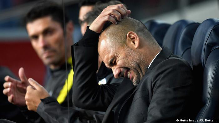UEFA Champions League | FC Barcelona vs Manchester City Pep Guardiola (Getty Images/S. Botterill)