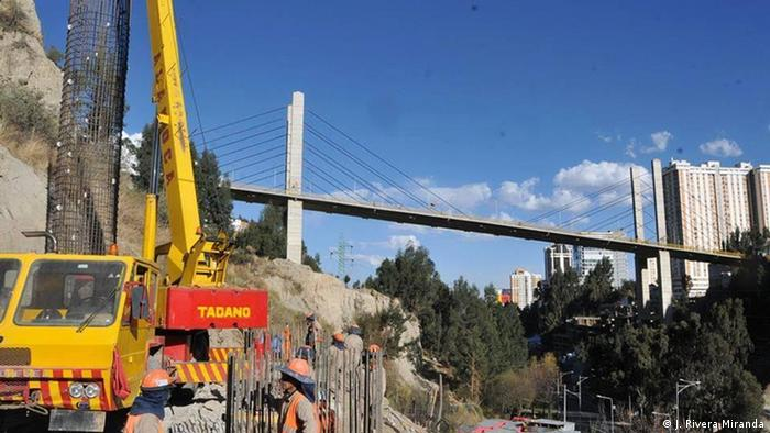 Bolivien | La Paz Gemelo de las Américas Brücke (J. Rivera Miranda)