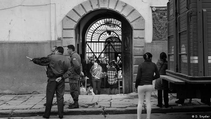 Bolivien | La Paz El Penal de San Pedro (D. Snyder)