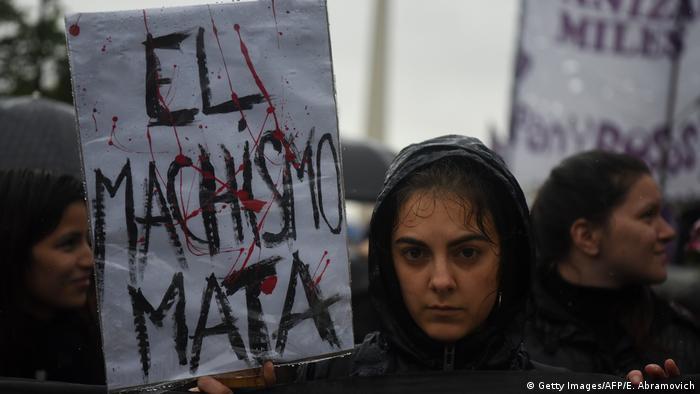 Argentinien | Massenproteste gegen Gewalt gegen Frauen